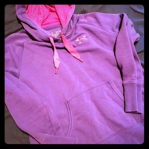 Under Armour purple women's hoodie